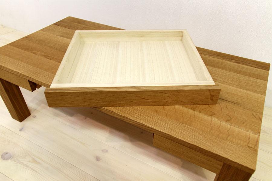 凛 センターテーブル ホワイトオーク6