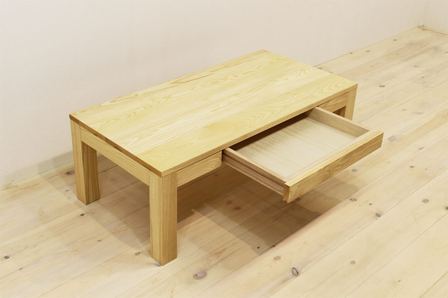 凛 センターテーブル ホワイトアッシュ4