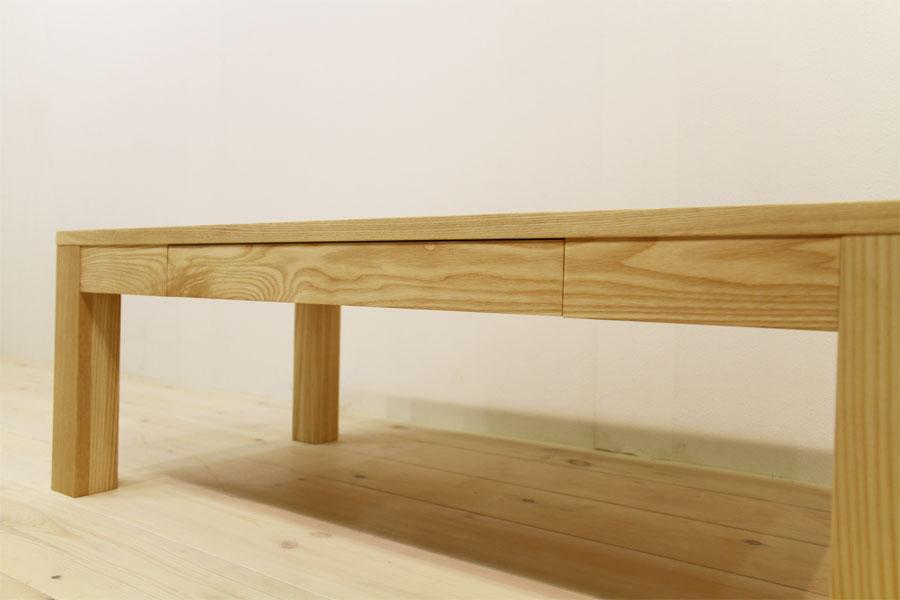 凛 センターテーブル ホワイトアッシュ8