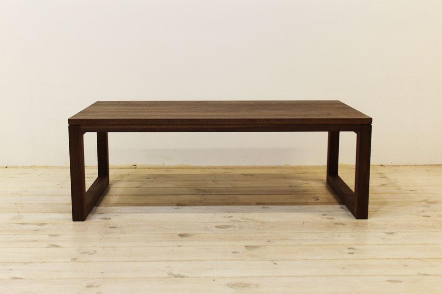 凛 センターテーブル ウォールナット/ウォルナット2