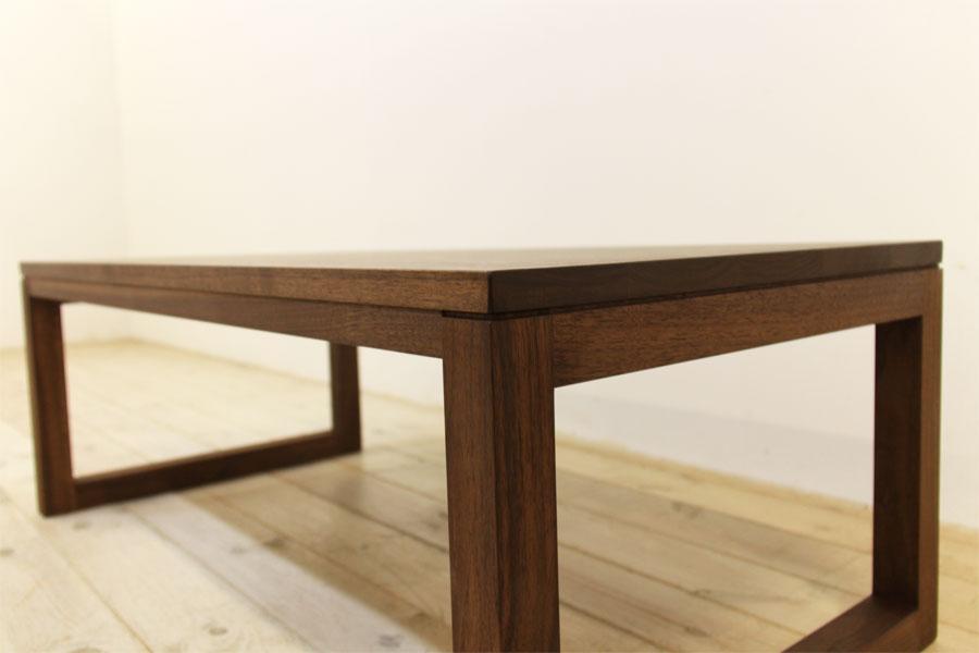 凛 センターテーブル ウォールナット/ウォルナット4