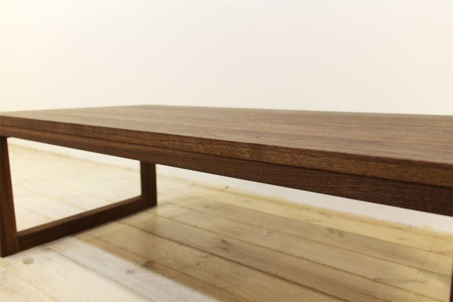 凛 センターテーブル ウォールナット/ウォルナット6