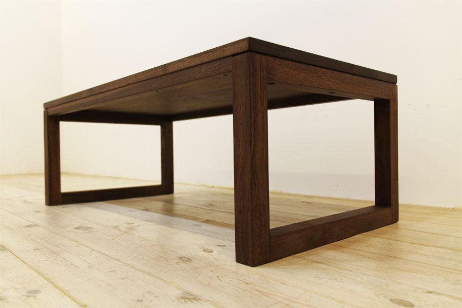 凛 センターテーブル ウォールナット/ウォルナット7