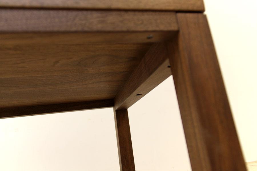 凛 センターテーブル ウォールナット/ウォルナット9