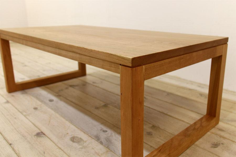 凛 センターテーブル ブラックチェリー4