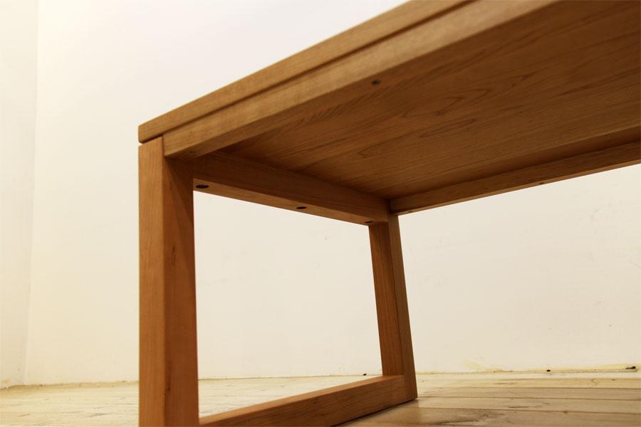凛 センターテーブル ブラックチェリー9