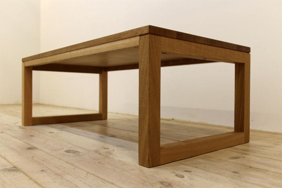 凛 センターテーブル ホワイトオーク8