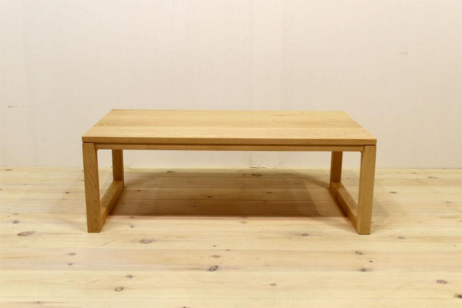 凛 センターテーブル ホワイトアッシュ2