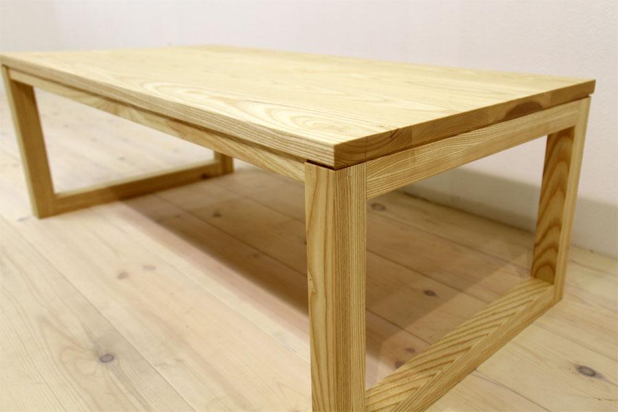 凛 センターテーブル ホワイトアッシュ5