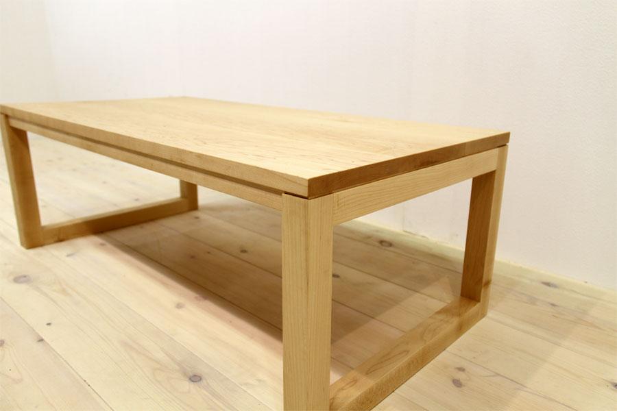 凛 センターテーブル メープル4