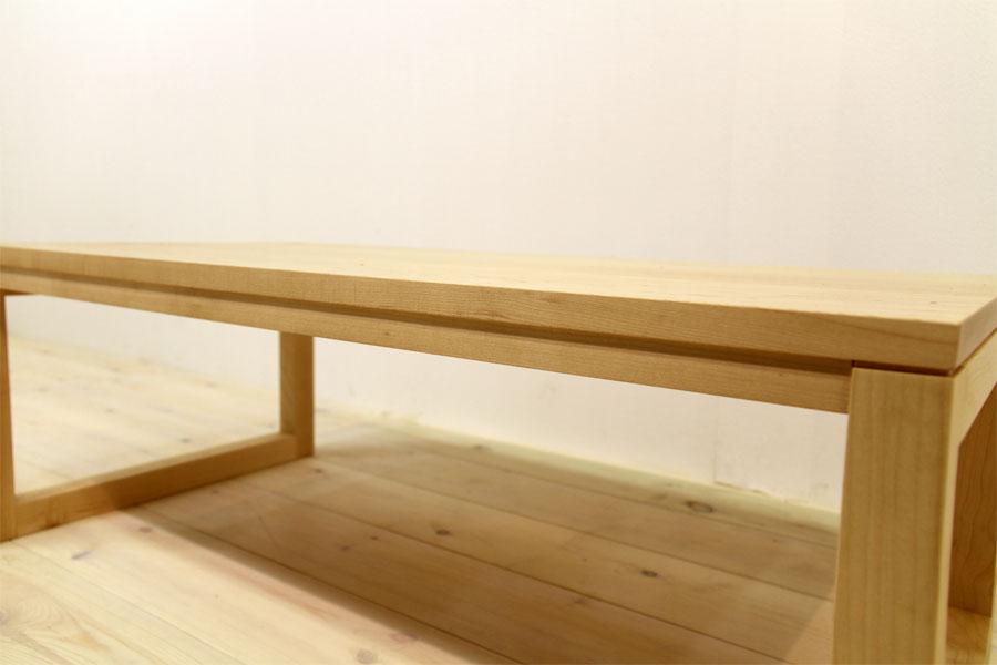 凛 センターテーブル メープル7