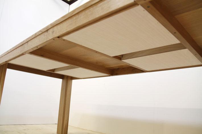 彩美/SAIBI ダイニングテーブル (ホワイトオーク)#06