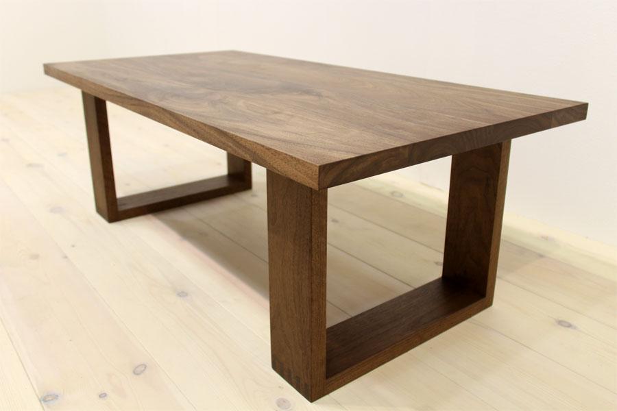 彩美/SAIBI センターテーブル W1000(ウォルナット-シンプル)#07