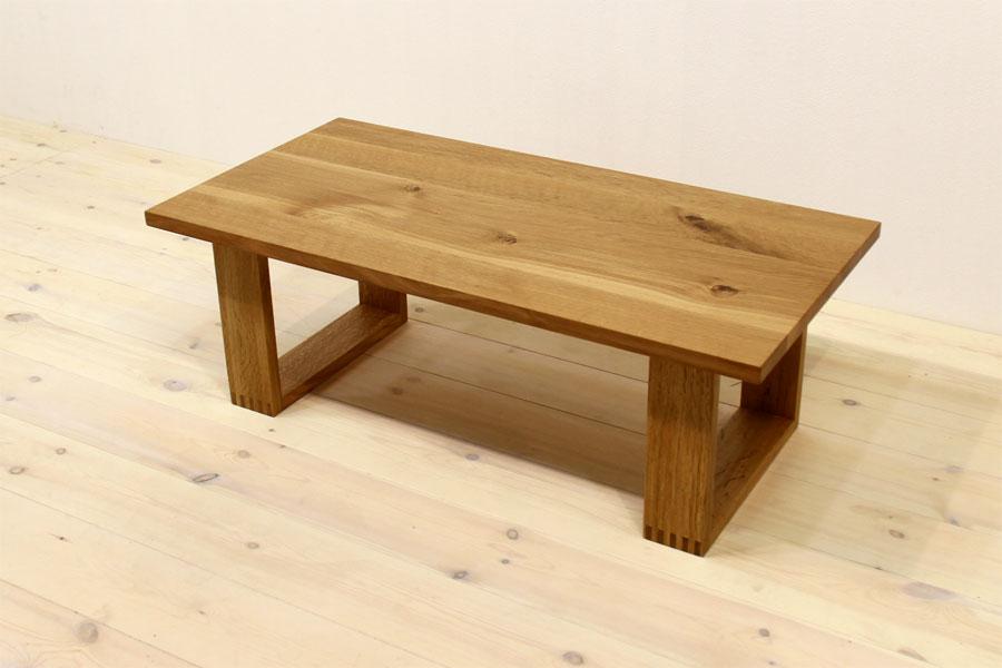 彩美/SAIBI センターテーブル W1000(ホワイトオーク-シンプル)#05