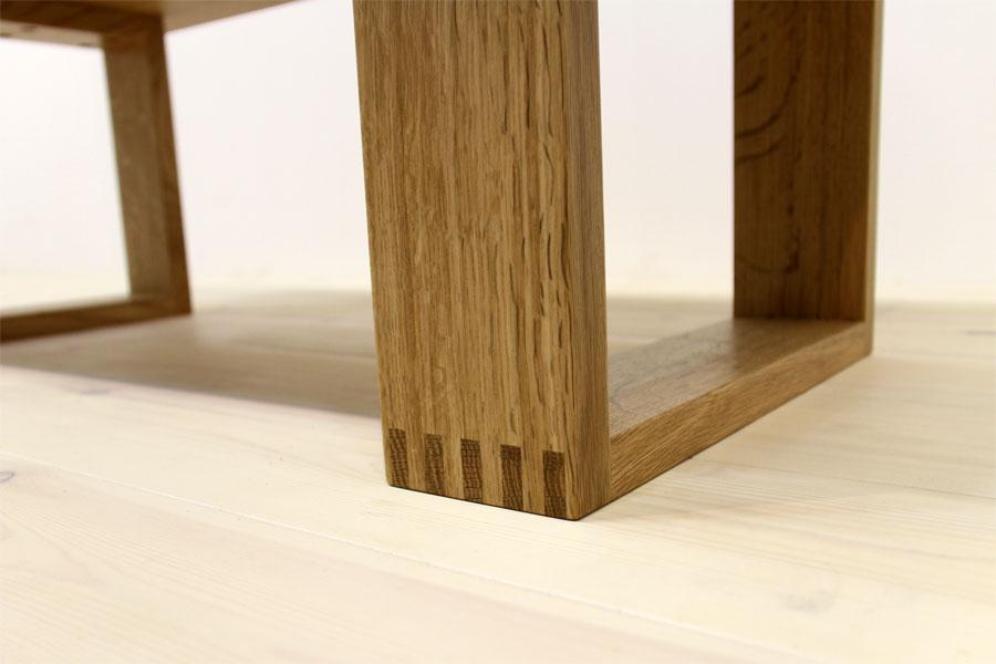 彩美/SAIBI センターテーブル W1000(ホワイトオーク-シンプル)#08