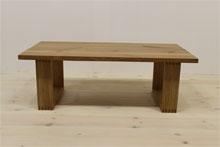 彩美/SAIBI センターテーブル W1000(ホワイトオーク-シンプル)#06