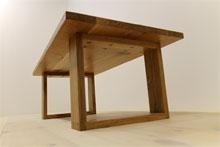 彩美/SAIBI センターテーブル W1000(ホワイトオーク-シンプル)#07