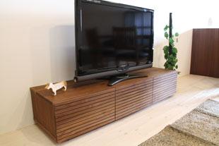 風雅テレビボード type1 幅1500mm ウォールナット