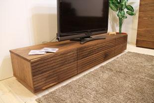 風雅テレビボード type1 幅1800mm ウォールナット