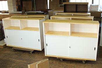 自然工房製作 別注家具2