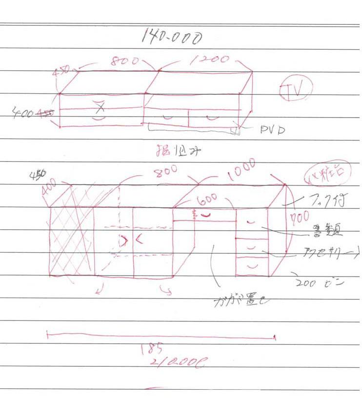 図面・ラフ図の描き方