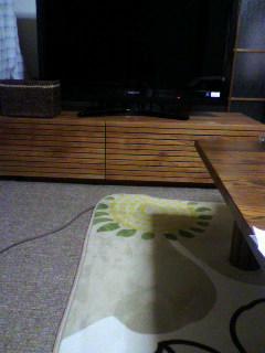 天然木・無垢ウォールナットのテレビ台