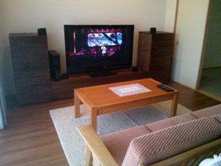 天然木・無垢を使用したテレビ台・キャビネット-風雅ウォールナット3