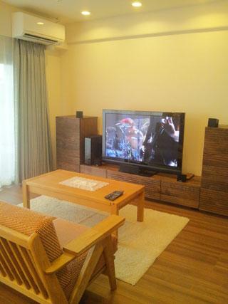 天然木・無垢を使用したテレビ台・キャビネット-風雅ウォールナット5