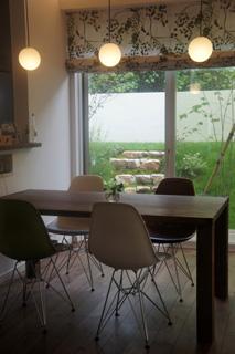 天然木・無垢を使用した大川家具ダイニングテーブル凛ウォールナットW1800-5