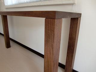 天然木のオーダーダイニングテーブル4