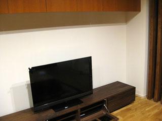 天然木・無垢のテレビボードW2400ウォールナット風雅6
