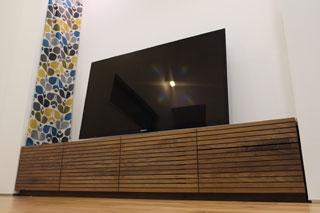 天然木・無垢-テレビボードW2000-ウォールナット-風雅タイプ2-1