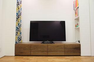 天然木・無垢-テレビボードW2000-ウォールナット-風雅タイプ2-2