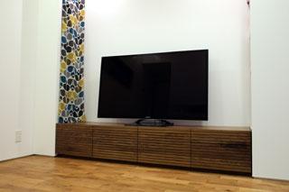 天然木・無垢-テレビボードW2000-ウォールナット-風雅タイプ2-5