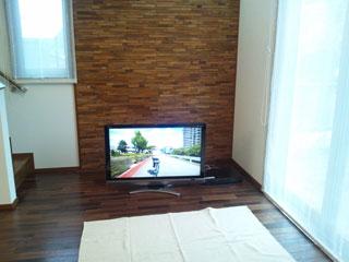 天然木・無垢のテレビボード-W1500-ウォールナット-風雅1