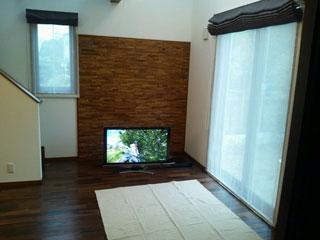 天然木・無垢のシンプルなローテーブル-ウォールナット-彩美1