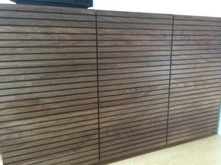 天然木・無垢のキャビネット-W1200-ウォールナット-風雅4