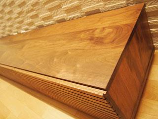 天然木・無垢のテレビボード-W2400-ウォールナット-風雅3