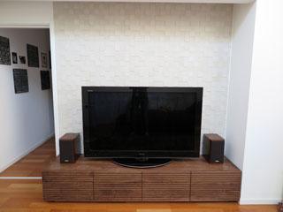 天然木・無垢のテレビボード-幅2000-ウォールナット-風雅タイプ2-1