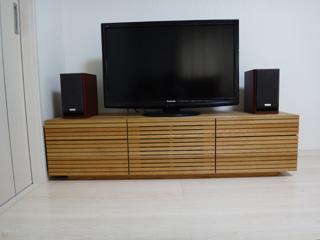 ホワイトオーク-テレビボード-幅1500-風雅タイプ2-2