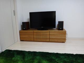 ホワイトオーク-テレビボード-幅1500-風雅タイプ2-3
