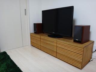 ホワイトオーク-テレビボード-幅1500-風雅タイプ2-4