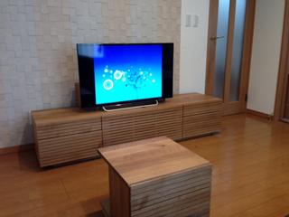 ホワイトオーク-テレビボード-幅1800-風雅タイプ2-2
