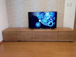 ホワイトオーク-テレビボード-幅1800-風雅タイプ2-1