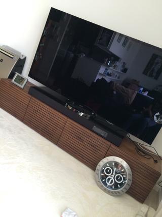 ウォールナット-テレビボード-幅2000-風雅タイプ2-2