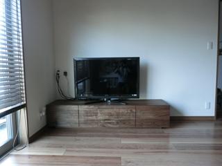 ウォールナットのテレビボード-幅1800-風雅1