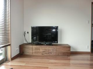 ウォールナットのテレビボード-幅1800-風雅2