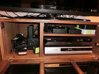 ウォールナットのテレビボード-幅1800-風雅4