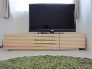 天然木・無垢のテレビ台1