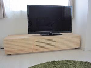 天然木・無垢のテレビ台2
